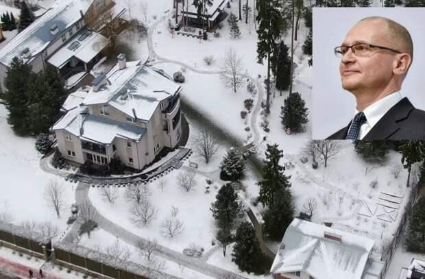 У Сергея Кириенко обнаружился участок и дом на Рублевке за 1 млрд рублей - «Корупция»