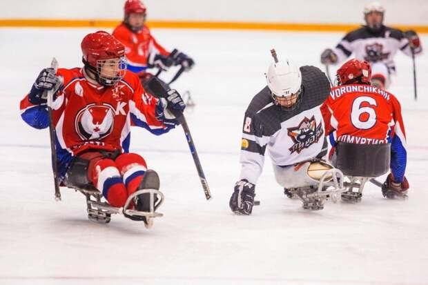 Следж-хоккеисты из Удмуртии открыли Чемпионат России победой над командой из Уфы