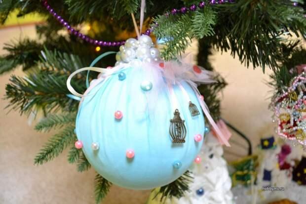Клуб «Парус» проведет конкурс поделок «Подари игрушку елке»