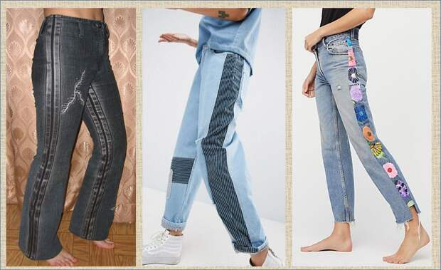 Переделка: готовим к весне и лету свои брюки и джинсы - 21 новая идея и около 70 примеров