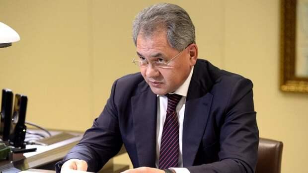 Шойгу прокомментировал предложение возглавить список «Единой России»