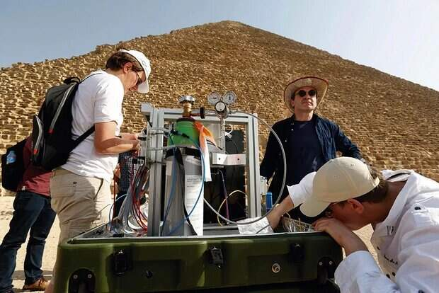 Ученые используют Космос для изучения пирамид в Египте