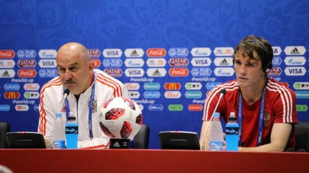 Черчесов провел жесткий разговор с игроками сборной России после разгрома от Бельгии