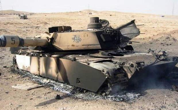 Аvia.pro: в Ираке нашли кладбище десятков подбитых танков Абрамс