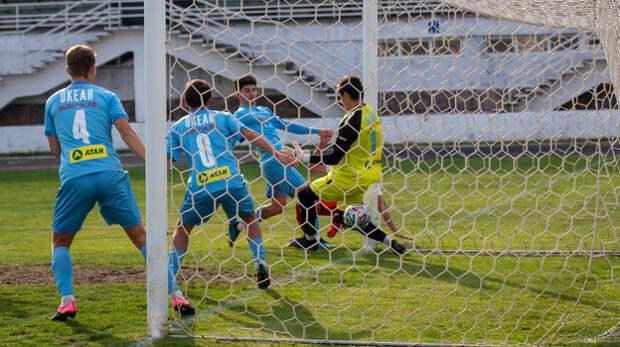 ФК «Севастополь» укрепил лидерство в крымском футболе