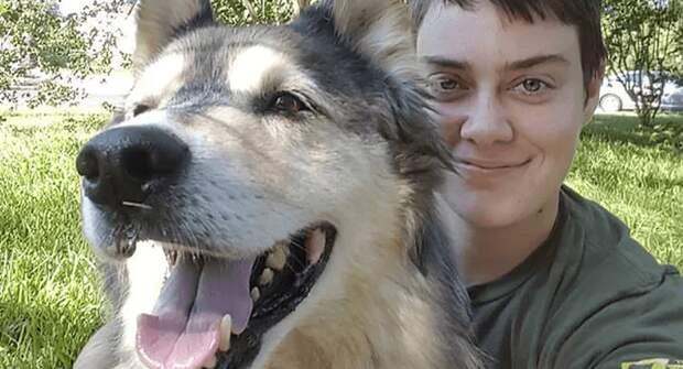 Хозяйка выполнила обещание, которое дала собаке, уходящей в другой мир