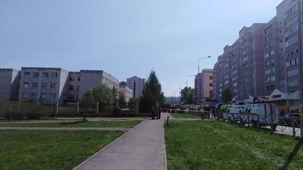 Власти Казани сообщили, кто нажал на тревожную кнопку в 175-й школе