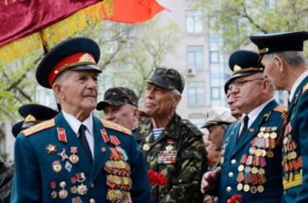 Президент РФ поздравил украинских ветеранов с годовщиной Великой Победы
