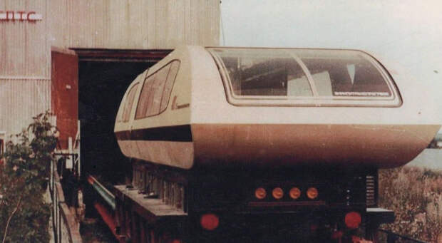 вагона TA-05 – советского поезда на магнитной подушке