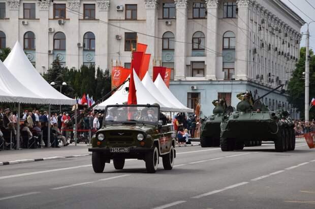 Симферополь встанет в пробках из-за подготовки ко Дню победы