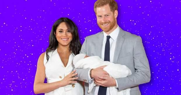 Посмотрите на милое рождественское фото принца Гарри, Меган Маркл и их сына