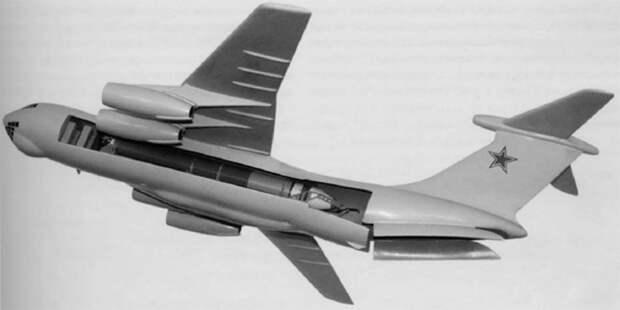 Носитель МБР набазе Ил-76