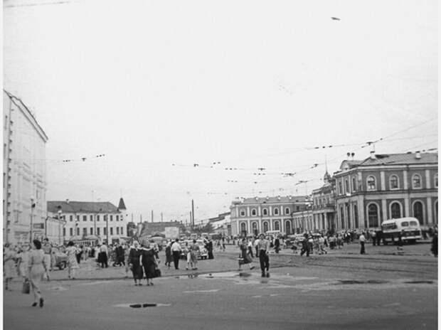 Нижний Новгород, пл. Революции, конец 40-х