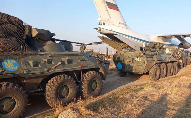 Российские миротворцы в Нагорном Карабахе получили высокую оценку