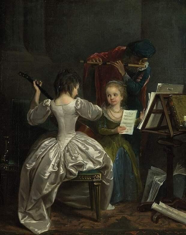 Художник Michel Garnier (1753 – 1819). Картины из светской жизни