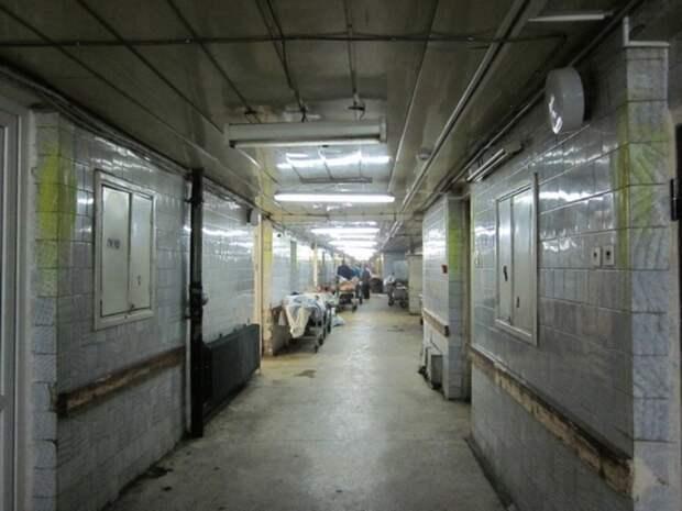 В Забайкалье тела умерших складируют в открытом гараже при морге