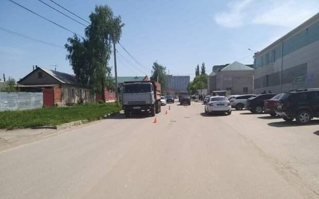 В Скопине КамАЗ насмерть сбил велосипедиста