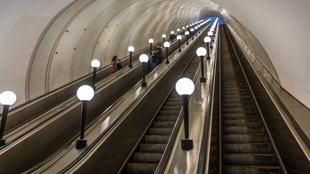 В метрополитене рассказали о работе станции «Шаболовская» во время ремонта эскалатора
