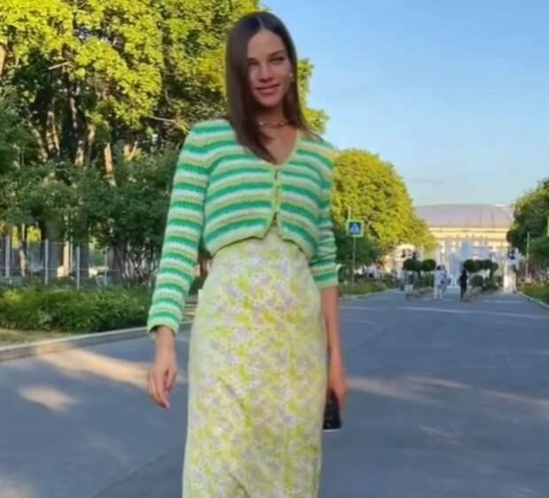 Алеся Кафельникова сообщила пол и имя первенца