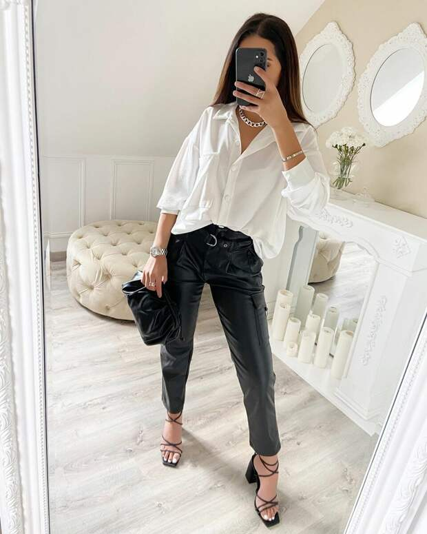 Белая рубашка: Какие фасоны рекомендуют стилисты