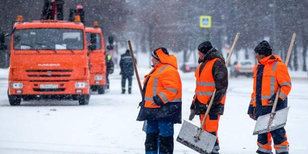 Снег больше не мешает жителям Беговой — «Жилищник»