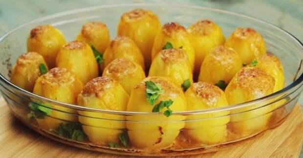 Картофель, фаршированный мясом. \ Фото: sovkusom.ru.