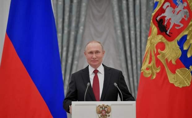 Путин подписал указы о награждении медработников Крыма и Севастополя