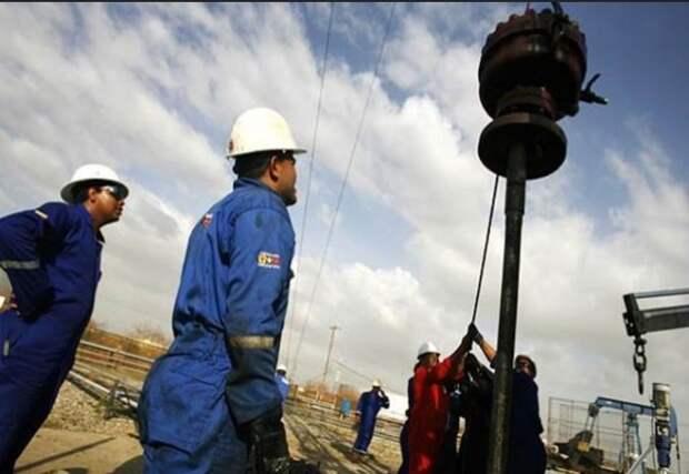 Венесуэла добыча нефти PDVSA Пояс Ориноко