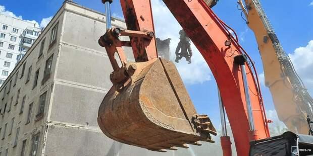 Незаконные постройки площадью 400 квадратных метров снесли в Бабушкинском
