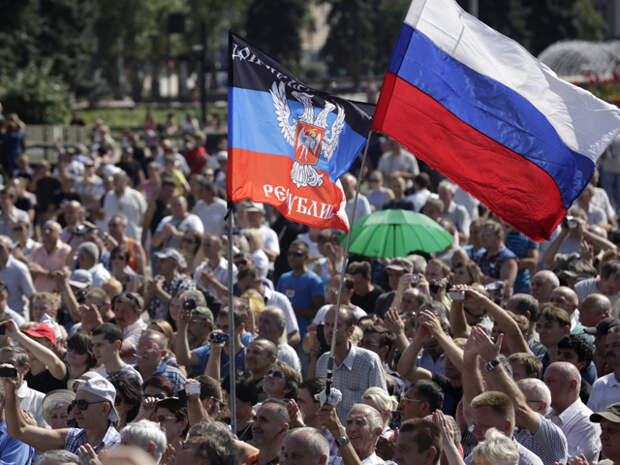 Россия начнёт возрождать империю с Украины