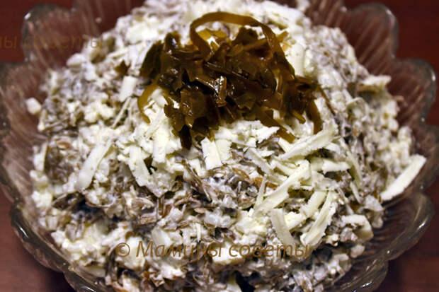 Салат с морской капустой как готовили в СССР!