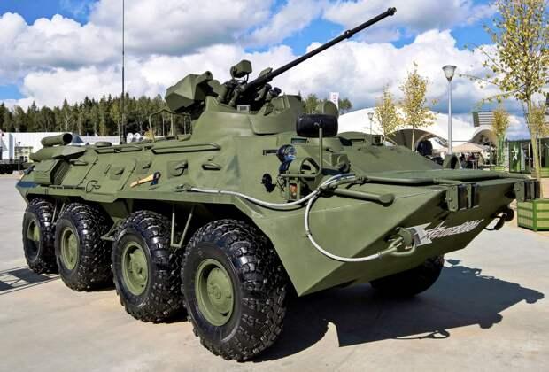 Главная новинка России. Сравнение обновленного броневика БТР-82А и БТР-80