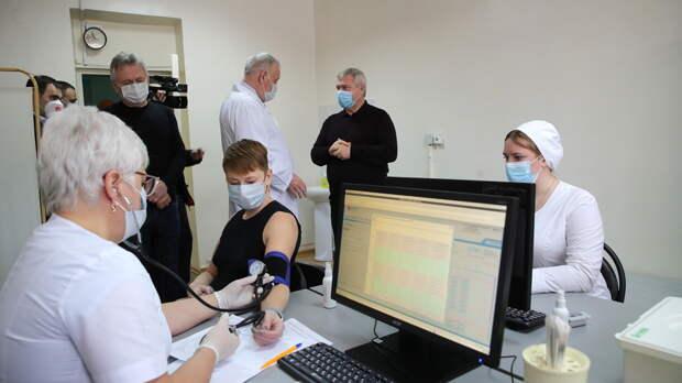 Голубев заявил оготовности увеличить число пунктов вакцинации вРостовской области