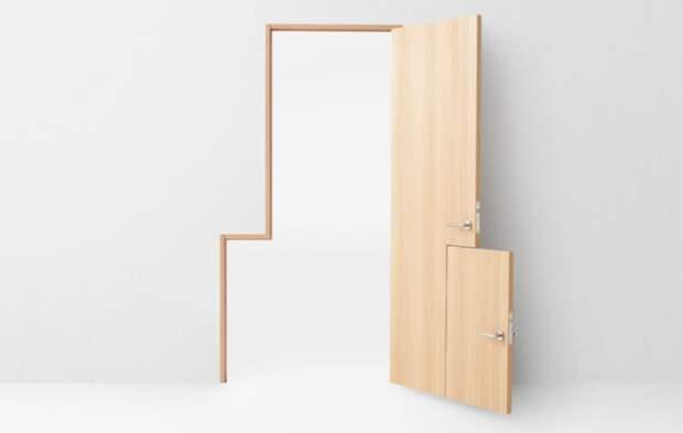 Seven Doors  Nendo