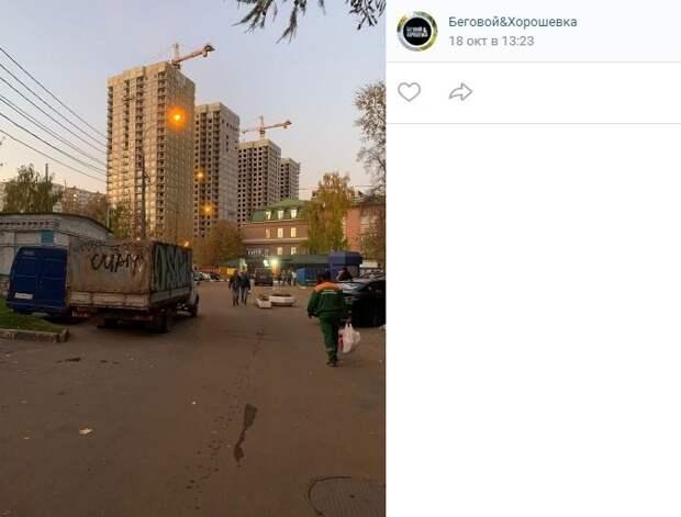 «Угрожающую безопасности» «Газель» на Хорошевском чуть не сдали в металлолом