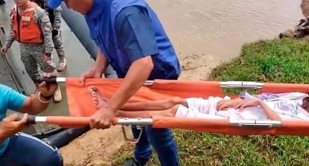 Чудесное спасение: женщина и трое ее детей больше месяца блуждали по джунглям