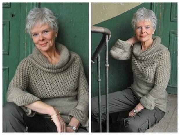 5 модных свитеров для женщин старше 50 лет