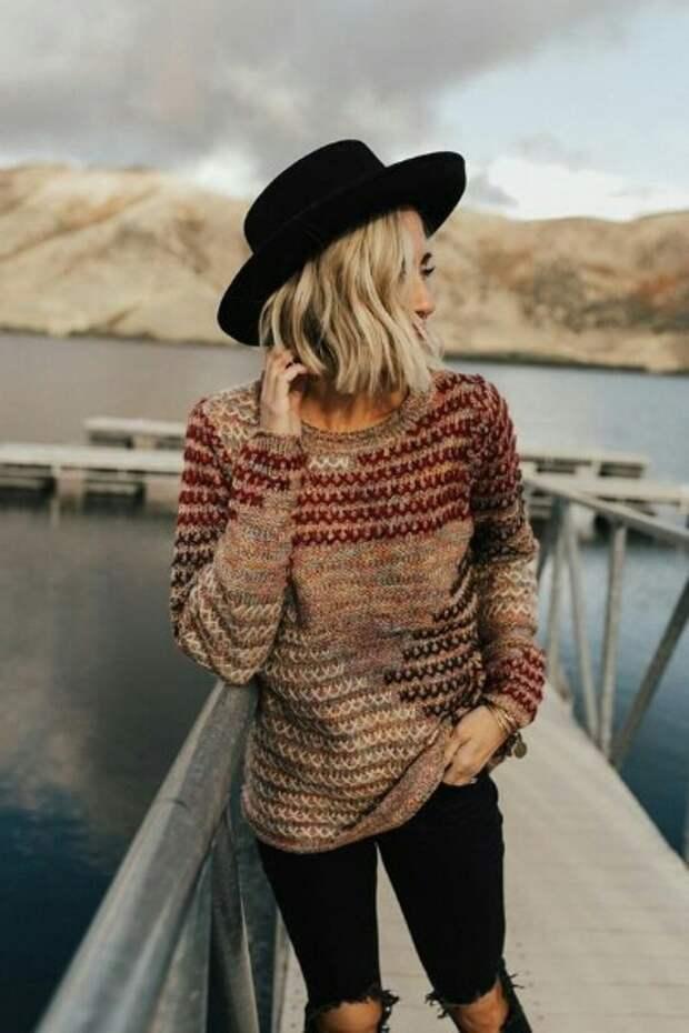 Осень - время свитера (подборка)