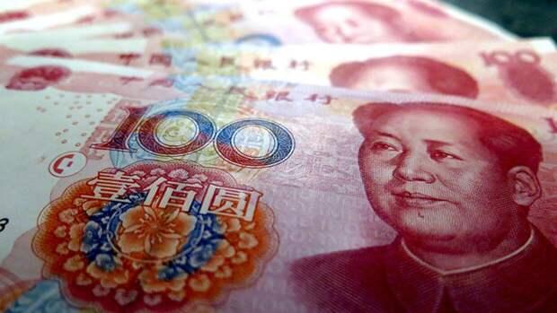 Официальный курс юаня к доллару достиг максимума с 2018 года