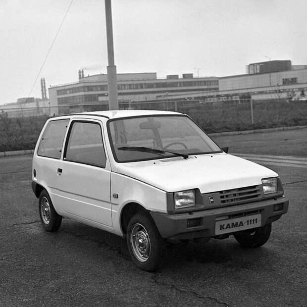 Чем отличались первые прототипы ВАЗ-1111 «Кама» от серийных автомобилей авто, автомобили, ваз, ваз кама, ваз-1111, малолитражка, ока, прототип