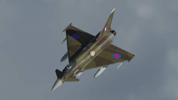 В The National Interest сравнили характеристики Су-35 и Eurofighter Typhoon