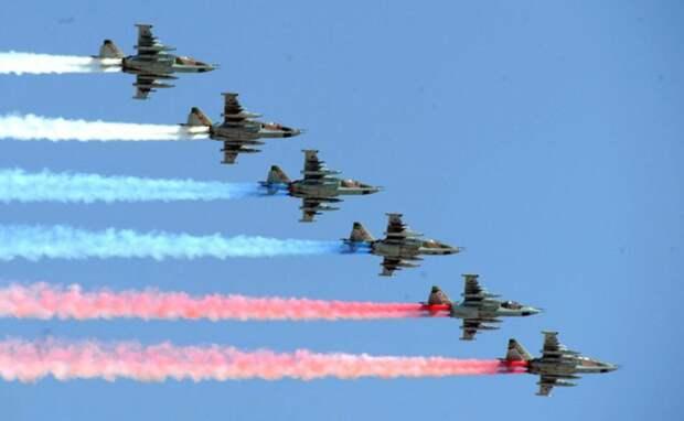 Названы меры, позволившие провести воздушный парад в Москве