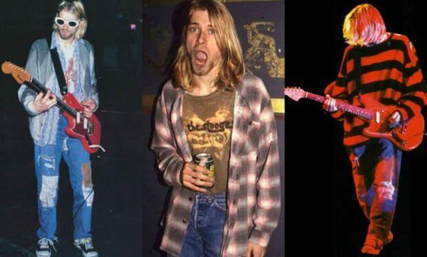 Курт Кобейн - лидер группы Nirvana