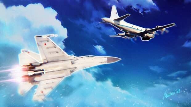 Sohu: смелый маневр советского Су-27 на 30 лет закрыл для НАТО Баренцево море
