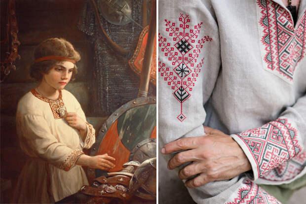 Чем русская косоворотка отличается от украинской, в чём её магическое значение и другие факты о народной рубахе