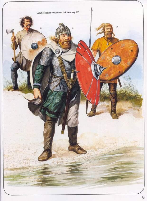 Германские воители.
