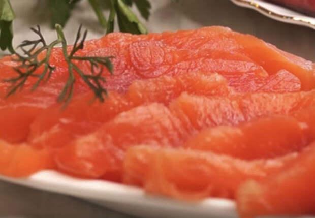 Солим красную рыбу вкуснее чем в ресторане