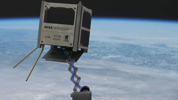 Фанерный спутник WISA Woodsat прошел испытания и готов к запуску в конце года