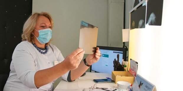 Врачи поддержали программу «Миллион призов» для голосующих онлайн Фото: Е. Самарин mos.ru