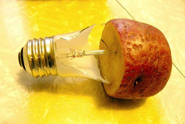 Вкрутить разбитую лампочку. | Фото: KitchenDecor.club.